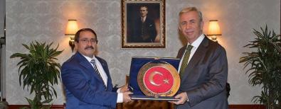 Başkan KILIÇ'a Ankara Ziyaretinde Tebrikler Aldı