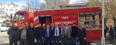 Tut Belediyesi Yeni İtfaye Aracı Teslim Töreni